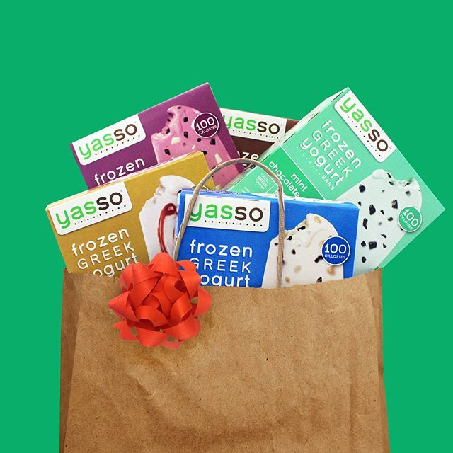 It's the most wonderful time of the year! Start it off with 5 free boxes of Yasso🎁   1. Like this post 👍🏼  2. Follow us @yasso 🍦  3. Tag a friend who loves froyo as much as you do!👫.  .  .  Open to U.S residents only, ends 12/2 at 12 PM ET. This giveaway is in no way sponsored or affiliated with Instagram. #yasso