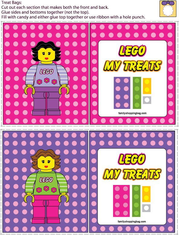 124 best Lego Birthday Printables images on Pinterest | Lego parties ...
