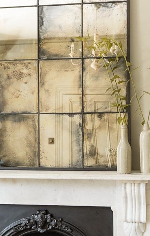Best 25 antiqued mirror ideas on pinterest distressed for Glass mirrors for walls
