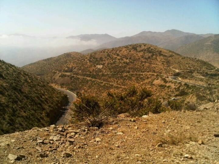 Subida virgen de Andacollo, La Serena IV region
