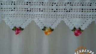 Motivo Triângulo de Crochê Floral – Aprendendo Crochê | Cantinho do Video