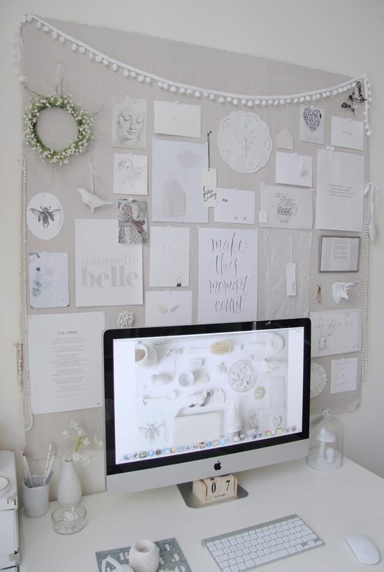 decoracion escritorio de oficina
