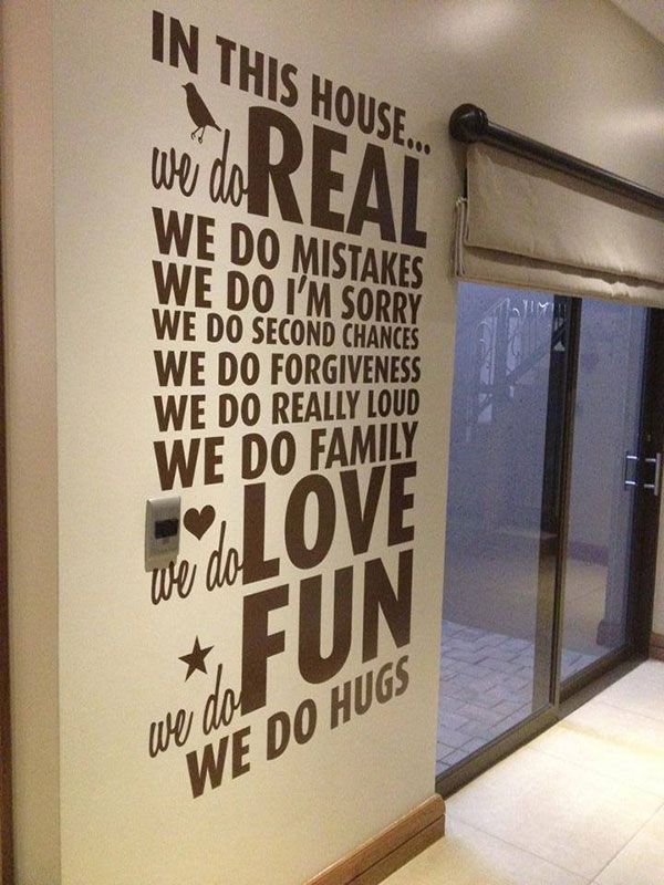 House Rules wall art designs | LoveCoco