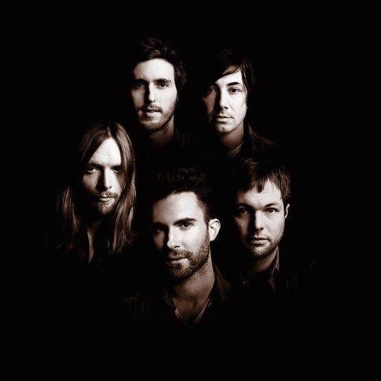 Maroon 5 ~ Adam Levine, James valentine, Jesse Carmichael, Matt Flynn, and Mickey madden