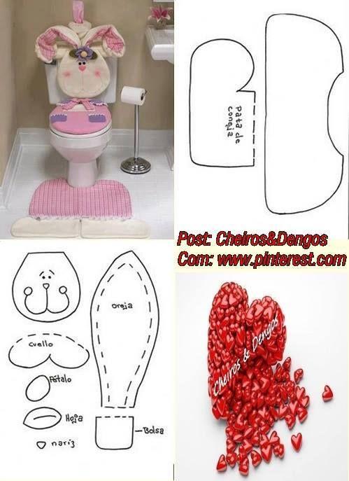 Juegos De Decorar Baño De Hello Kitty: LENCERIA BAÑO en Pinterest
