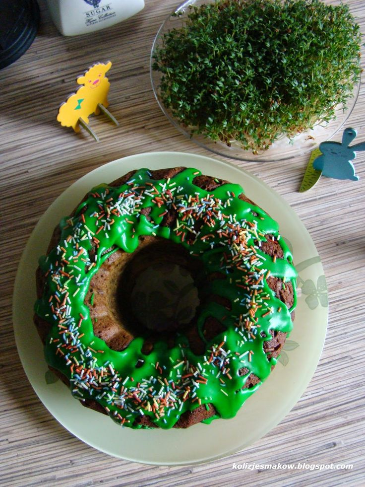 Babka jogurtowa z zielona herbata matcha :)