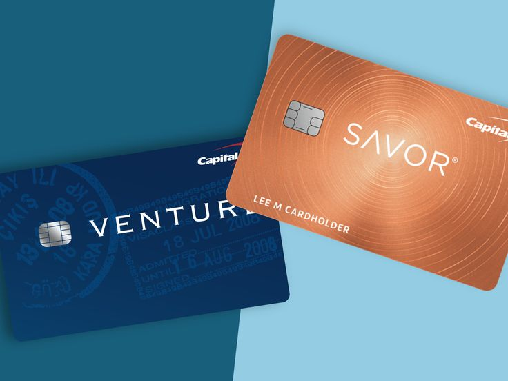 Capital one venture vs savor using both credit cards