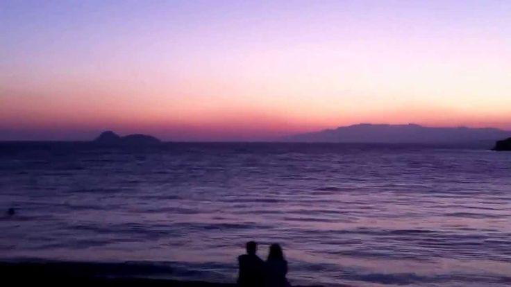 Sunset at Matala, Crete