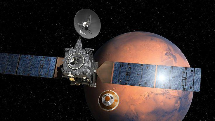 Esa-Mission geht auf die Zielgerade: Mars-Sonde dockt vom Satelliten ab
