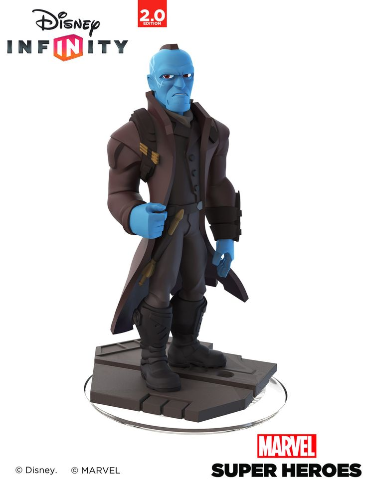 Yondu - Disney Infinity 2.0 - Toy Sculpt, Ian Jacobs on ArtStation at http://www.artstation.com/artwork/yondu-disney-infinity-2-0-toy-sculpt