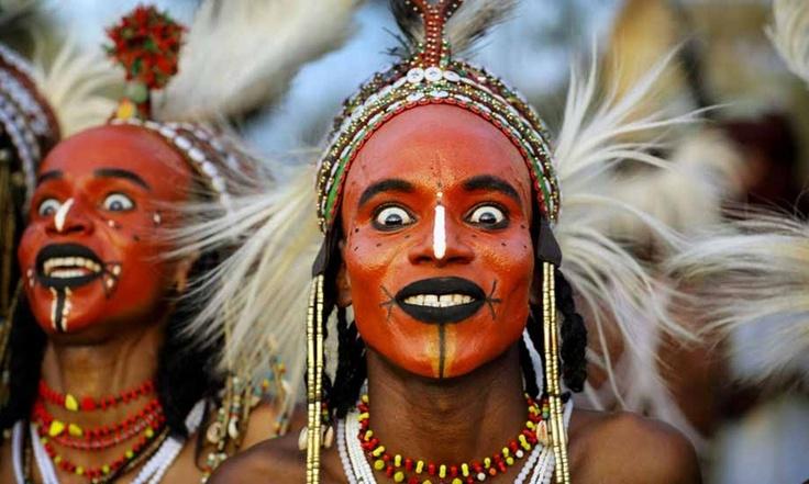 Woodabe People in Gerewol Festival