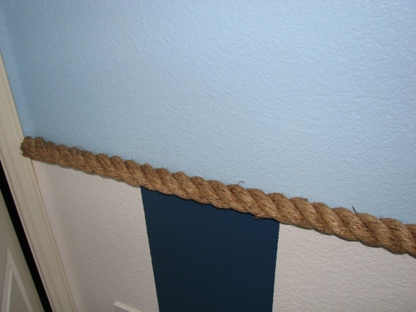 rope wall border