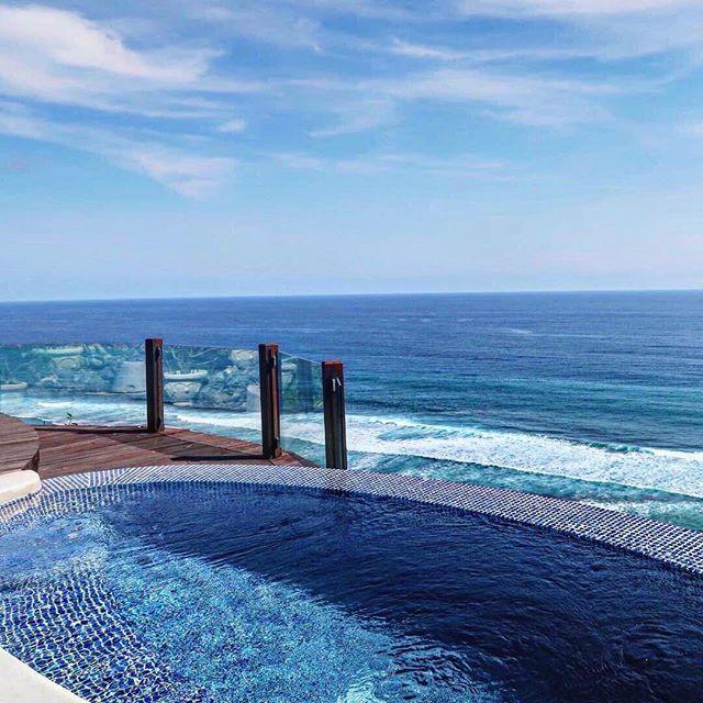 High above the shore, Karma Kandara Spa feels like a little piece of heaven.   Photo Courtesy @veezunn   #ExperienceKarma #KarmaSpa #KarmaKandara #Bali #Paradise #InfinityPool #MeTime #ThisView #InfiniteBlue #Ocean #Sky #Blue #Rejuvenate