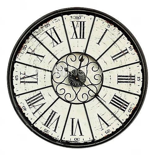 """23"""" vintage quadrante orologio da parete di design in metallo"""