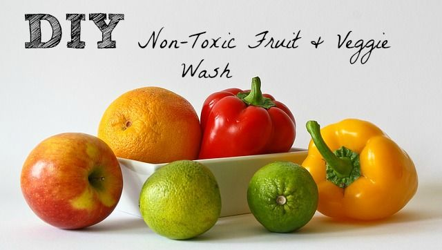 These days, there are all kinds of gross things being sprayed on our fruits and veggies. Ugh! I don't see it getting better any time soon. Check out this awesome non-toxic fruit and veggie wash that will get all of that nasty stuff off. In a 12-14 oz spray bottle mix the... #diy #fruit #veggie