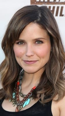 Sophia Bush wears a casual wavy style to the 1st Annual Founders Party For The Invisible Children's 4th Estate Leadership Summit.