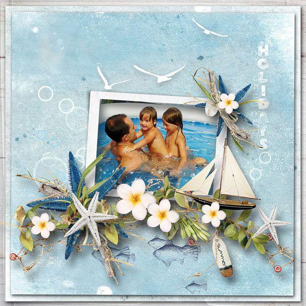 """NEW*NEW*NEW  """"Summer on the Beach"""" Collection by et designs  SAVE 62%  http://www.thedigichick.com/shop/Summer-on-the-Beach-Collection.html  DÁREK pro mého skvělého syna a milujícího tátu dvou krásných holčiček"""