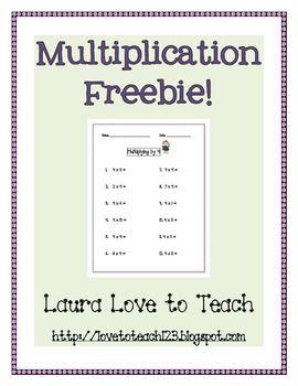 best 25 free multiplication worksheets ideas on pinterest multiplication worksheets times. Black Bedroom Furniture Sets. Home Design Ideas