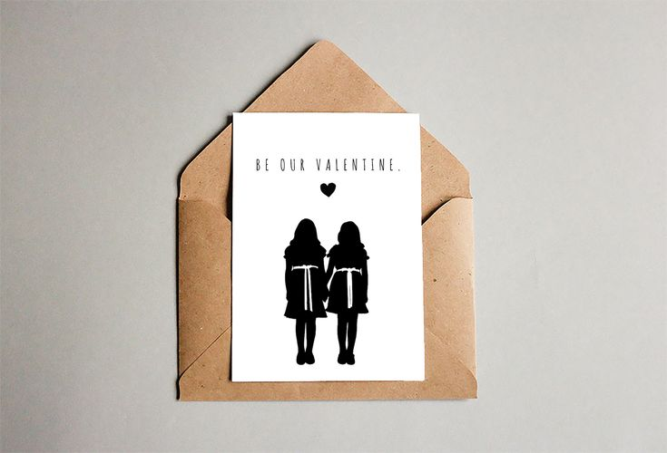 Be our valentine, the shining twins, valentines day card, love, inspirational, quote wall art, couple love, tumblr mature, funny horror