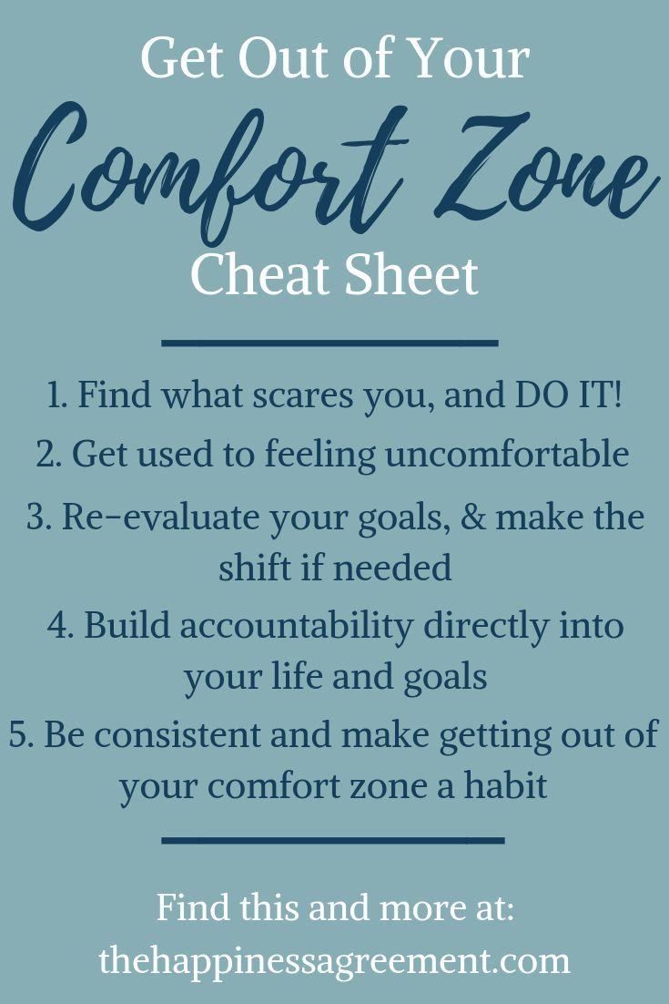 Win By Pushing Past Your Comfort Zone Comfort Zone Quotes