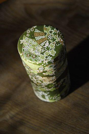 Boite à thé japonaise #the #japon #vert #deco #broderie