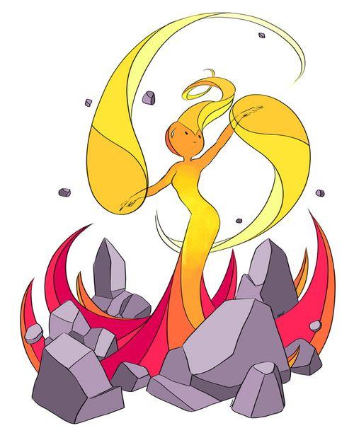 Flame Princess by Natasha Allegri.