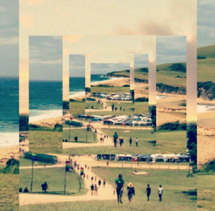 #festival #collage #kiama #byronbay #beach #camping #ocean #sea