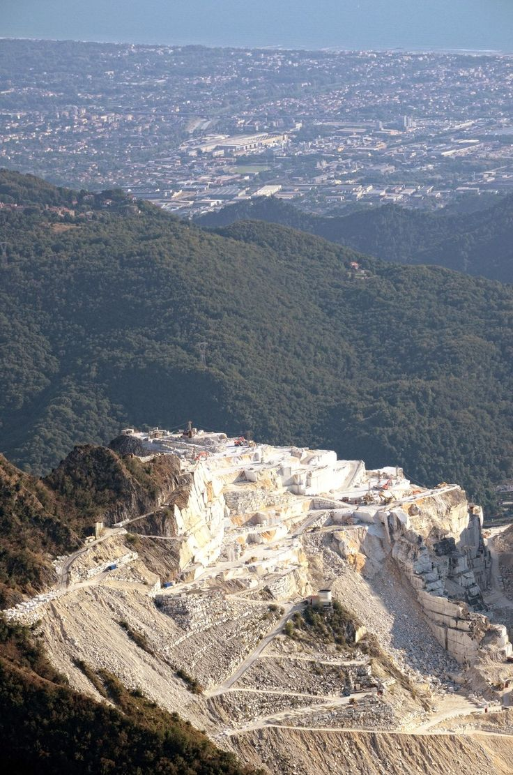 Famous Marble Quarry, Carrera, Italy