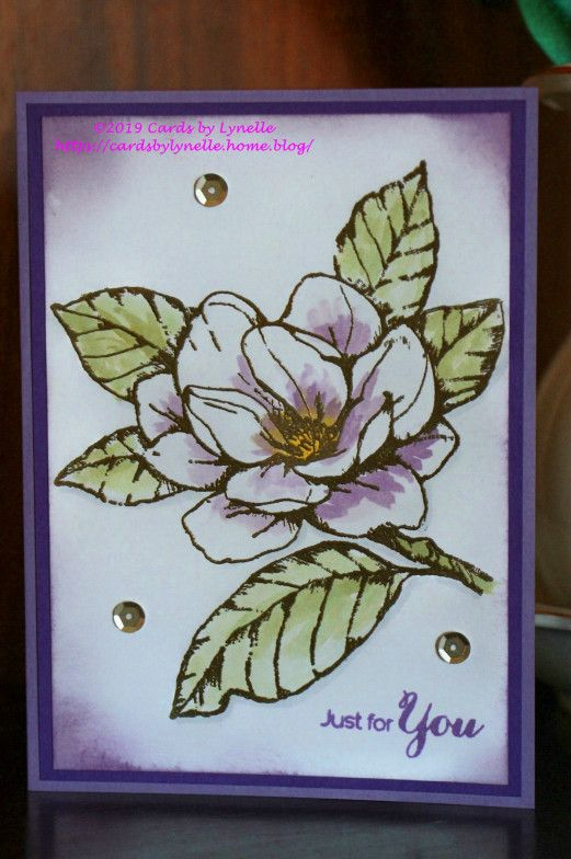 Pastel Magnolia Cards By Lynelle Annual Catalog 2019 border=