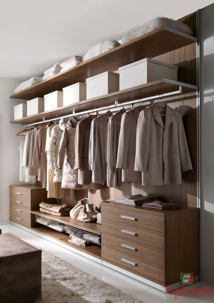 Oltre 1000 idee su armadio per camera da letto armadio su ...