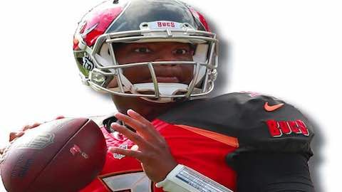 NFL 2017: Famous Jameis Winston - Tampa Bay quarterback Jameis Winston passed for a career-high 4,090 yards last year and became the first player in NFL history with at least 4,000 passing yards in each of his first two seasons. This season Jameis looks to improve upon the Bucs record and lead them to the playoffs.