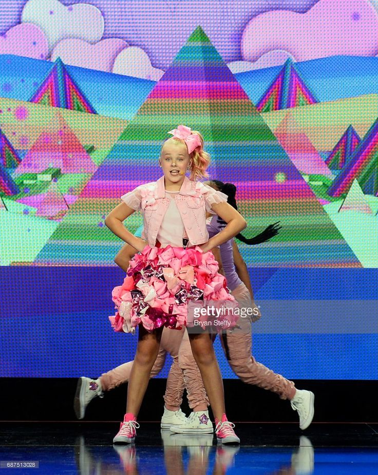 Singer/dancer/social media influencer JoJo Siwa performs during Nickelodeon's presentation at Licensing Expo 2017 at the Four Seasons Hotel Las Vegas on May 23, 2017 in Las Vegas, Nevada.