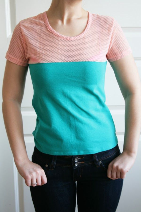 DIY // Two into one t-shirt | Oh Everything Handmade