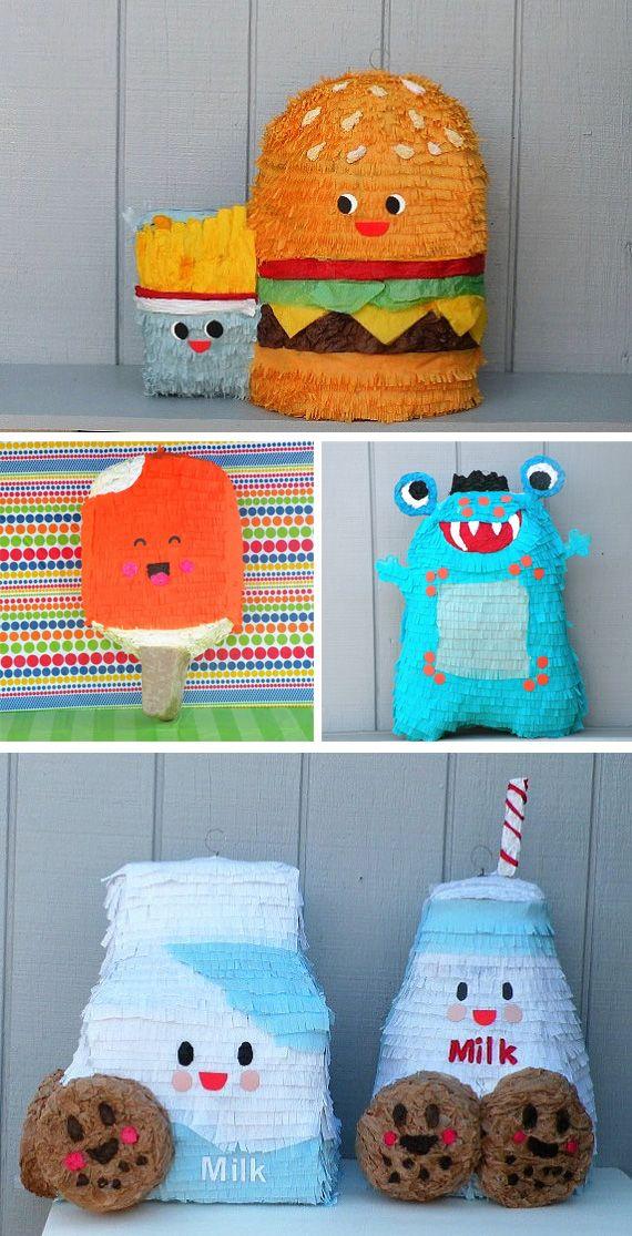 Piñatas alucinantes en Decoración y detalles para fiestas de bebes, niños y adultos, para celebraciones de aniversarios, cumpleaños o cenas
