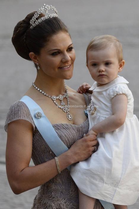 Royal Wedding. Matrimonio della principessa Madeleine di Svezia. La sorella Victoria