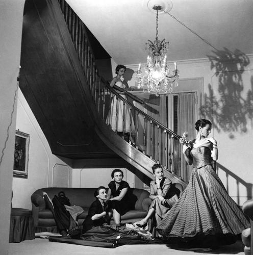 Atelier Sorelle Fontana, Roma, 1953