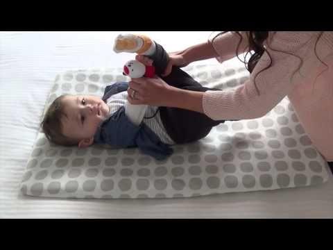 Ejercicios para bebes - 40 días de nacido a 3 meses - YouTube
