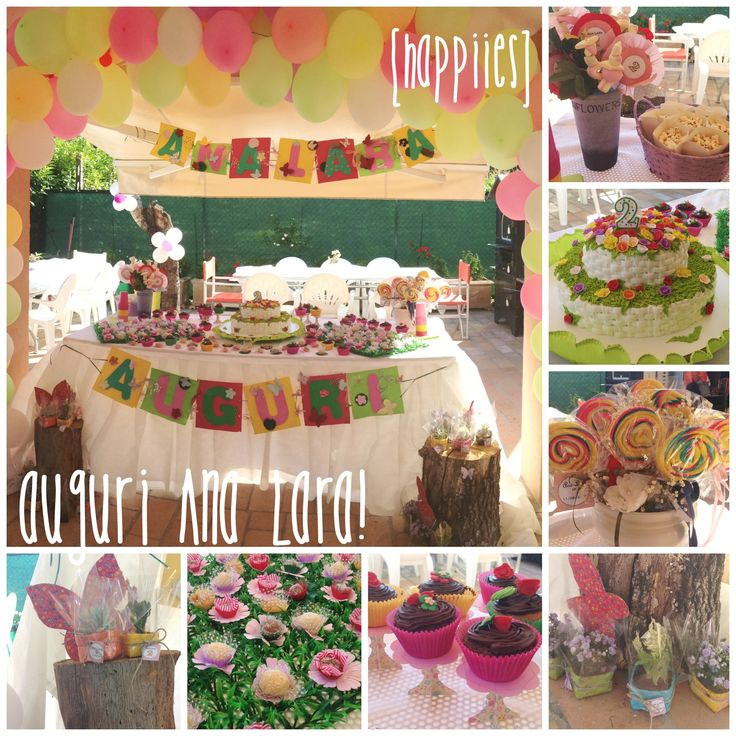 la festa DIY di Ana Lara, due anni!  #party #festa #2anni
