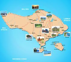 tourist map of bali indonesia | Bali Tour Packages « Sam Bali Car Rental