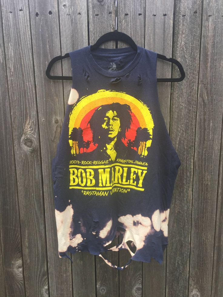 A personal favorite from my Etsy shop https://www.etsy.com/listing/535465289/bob-marley-x-large-bleached-distressed
