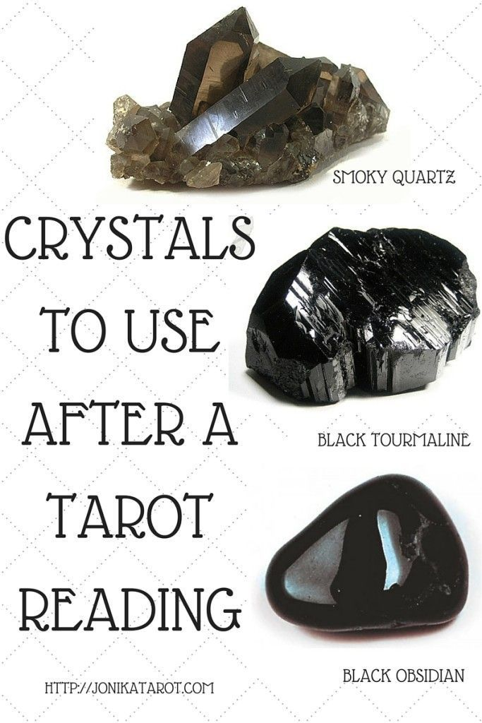 What I encourage you to do is after every Tarot reading, hold one of your stones in your hand and imagine it pulling all the psychic debris out of your body and into itself.