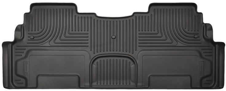 19211 Husky Liners WeatherBeater Black 2nd Seat Floor Liners Fitment 2007-2015 Buick/Chevy/GMC