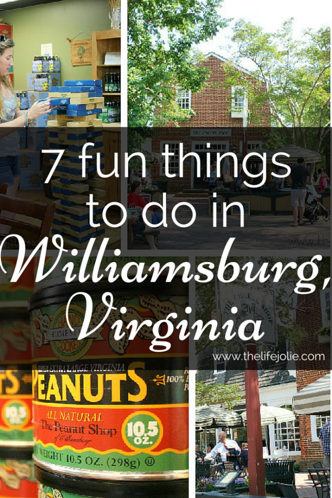 7 fun things to do in Williamsburg, Virginia