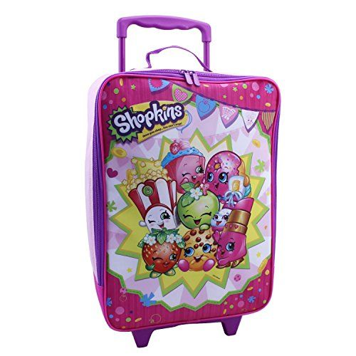 Moose Shopkins Pilot Case Group Shot Pink * To view further for this item, visit the image link.