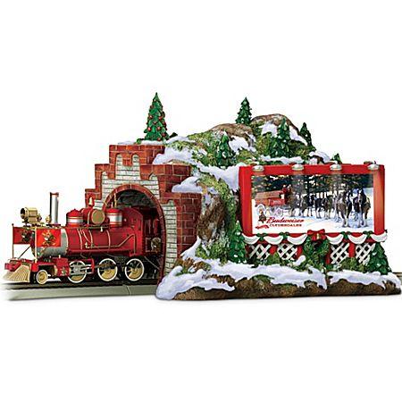 Budweiser Christmas Train Accessory: Mountain Tunnel