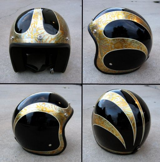 HOME - OLD SCHOOL HELMETS & Custom Paint
