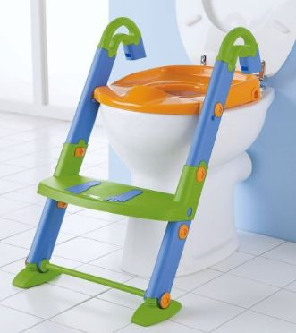 3 in 1 Toilet Trainer Potty Toilet Seat Kids Toddler Chair Fold Step Ladder Pad  sc 1 st  Pinterest & 23 best Potty Chairs With Steps images on Pinterest | Potty chair ... islam-shia.org