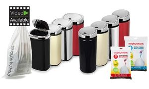 Groupon - Morphy Richards 2L Counter Top, 30, 42 or 50L Round or Square Sensor Bin with 20 Bin Liners from £12.98 (Up to 76% Off). Groupon deal price: £12.98