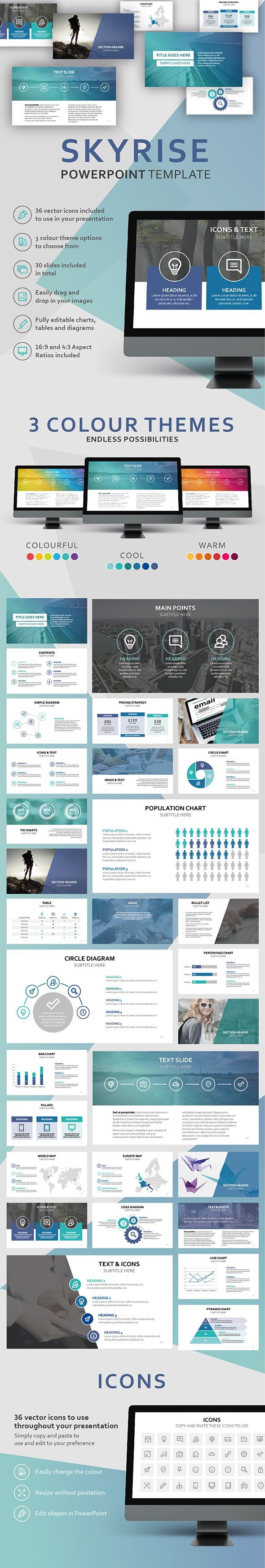 918 best powerpoint templates images on pinterest
