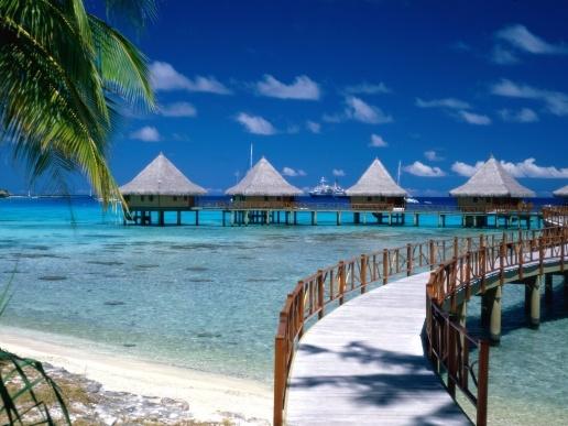 Bora Bora. After finding a boy in Paris, holiday in Bora Bora :D